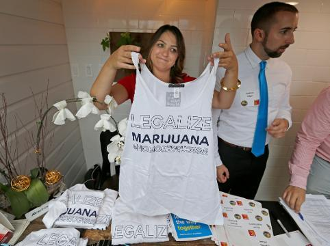 Lobbying for marijuana