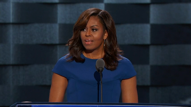 First Lady Calls Out 'Hateful Language' at DNC