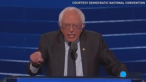 Susan Page highlights the first night of the Democratic National Convention, with plenty of famous faces and a call for unity between Clinton and Sanders supporters.