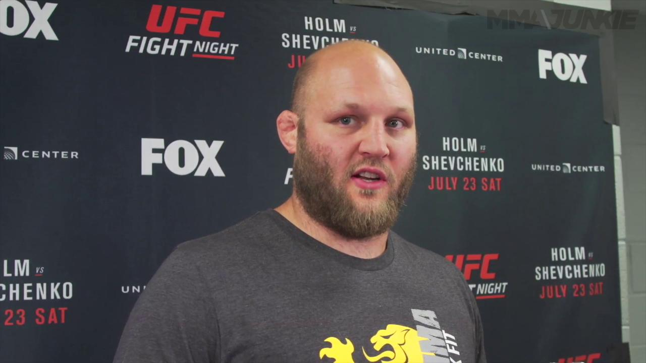 "UFC 203's Ben Rothwell ""I believe i can beat any heavyweight on the planet"""
