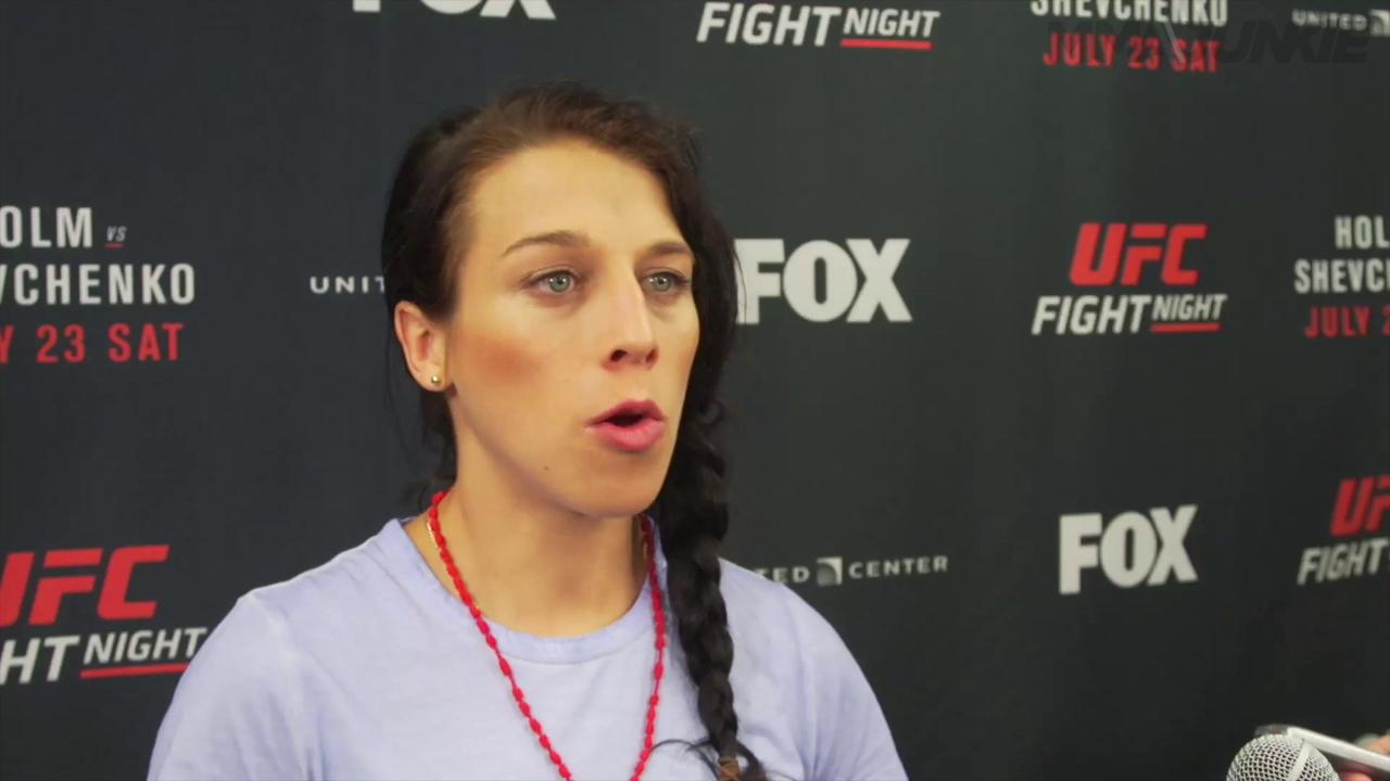 "Joanna Jedrzejczyk on a potential womens flyweight division ""I could balance between 115 and 125"""