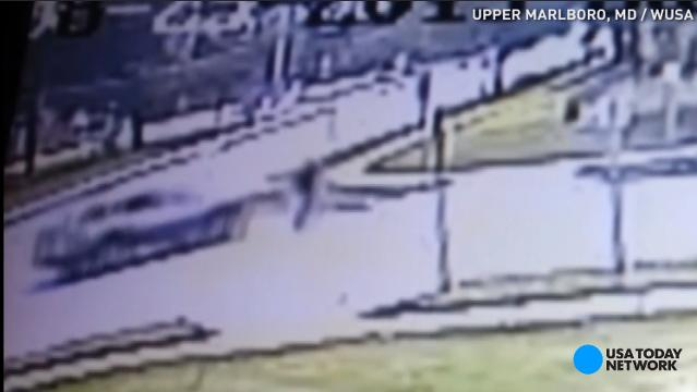 Shocking video shows wife run husband over with SUV