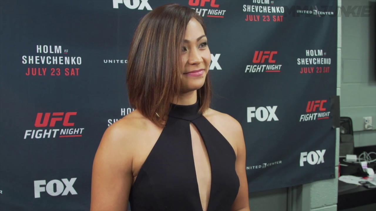 "Michelle Waterson after year long layoff is not concerned about rankings ""My work will speak for itself'"