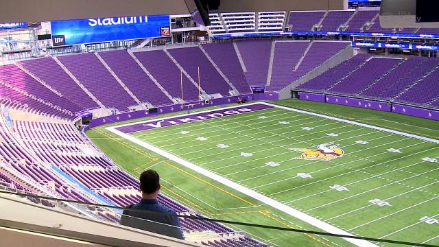 Tour of the Vikings' new stadium
