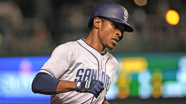 The San Diego Padres have traded Melvin UptonJr. to the Toronto Blue Jays in exchange for pitching prospect Hansel Rodriguez and cash, the Padresannouncedon Tuesday.
