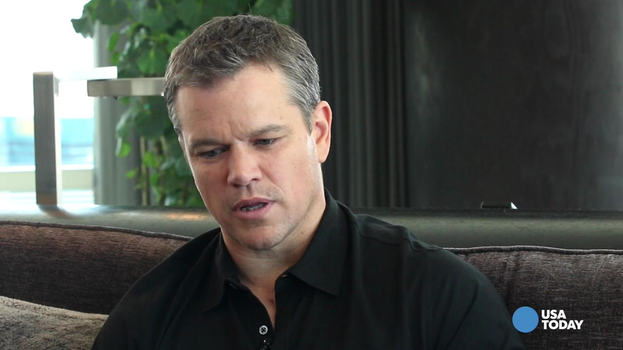 Actor Matt Damon talks about New England Patriots quarterback Tom Brady and gives warning to the rest of the NFL.