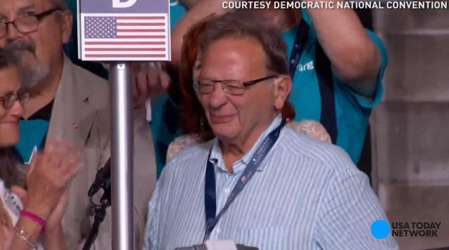 Larry Sanders casts tearful vote for brother Bernie