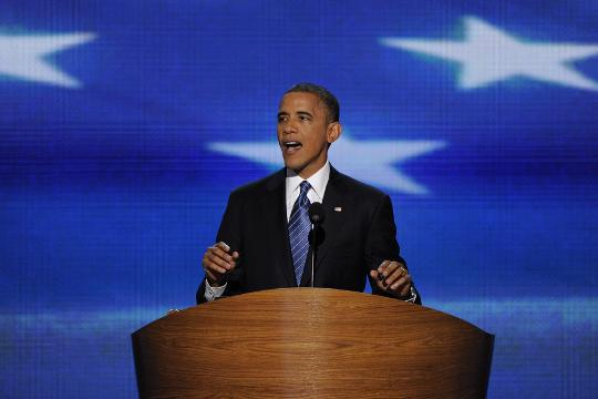 President Obama spoke at the past three Democratic National Conventions and he will take the stage for the fourth time on Wednesday.