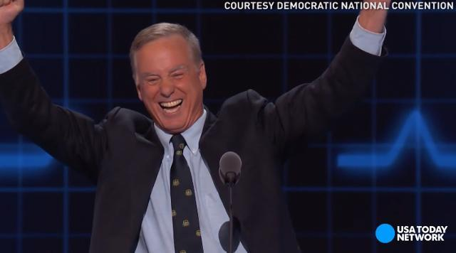 Howard Dean brings back Dean Scream at Dem convention