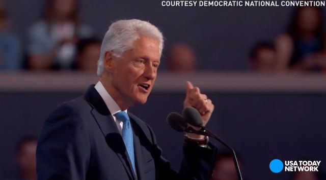 Former President Bill Clinton praised Hillary Clinton's accomplishments, calling her the best change-maker he has ever known, at the Democratic National Convention.
