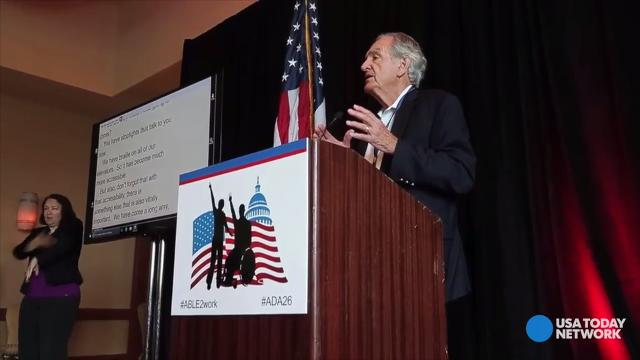 Senator Tom Harkin focuses on disability rights