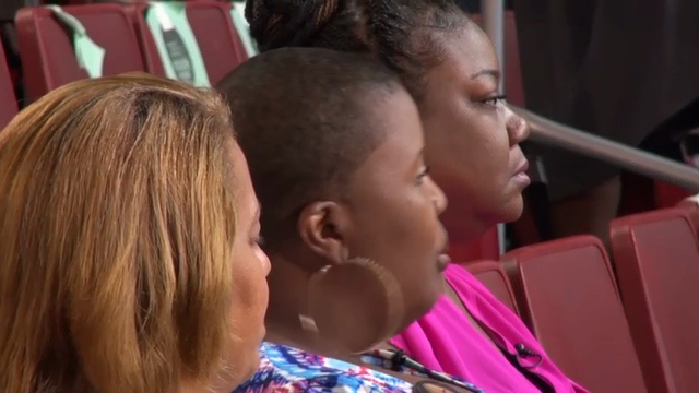 Delegates at the DNC applauded a group of African-American mothers who spoke at the convention calling for justice after the deaths of their children following encounters with police or incidents ending in gun violence. (July 27)
