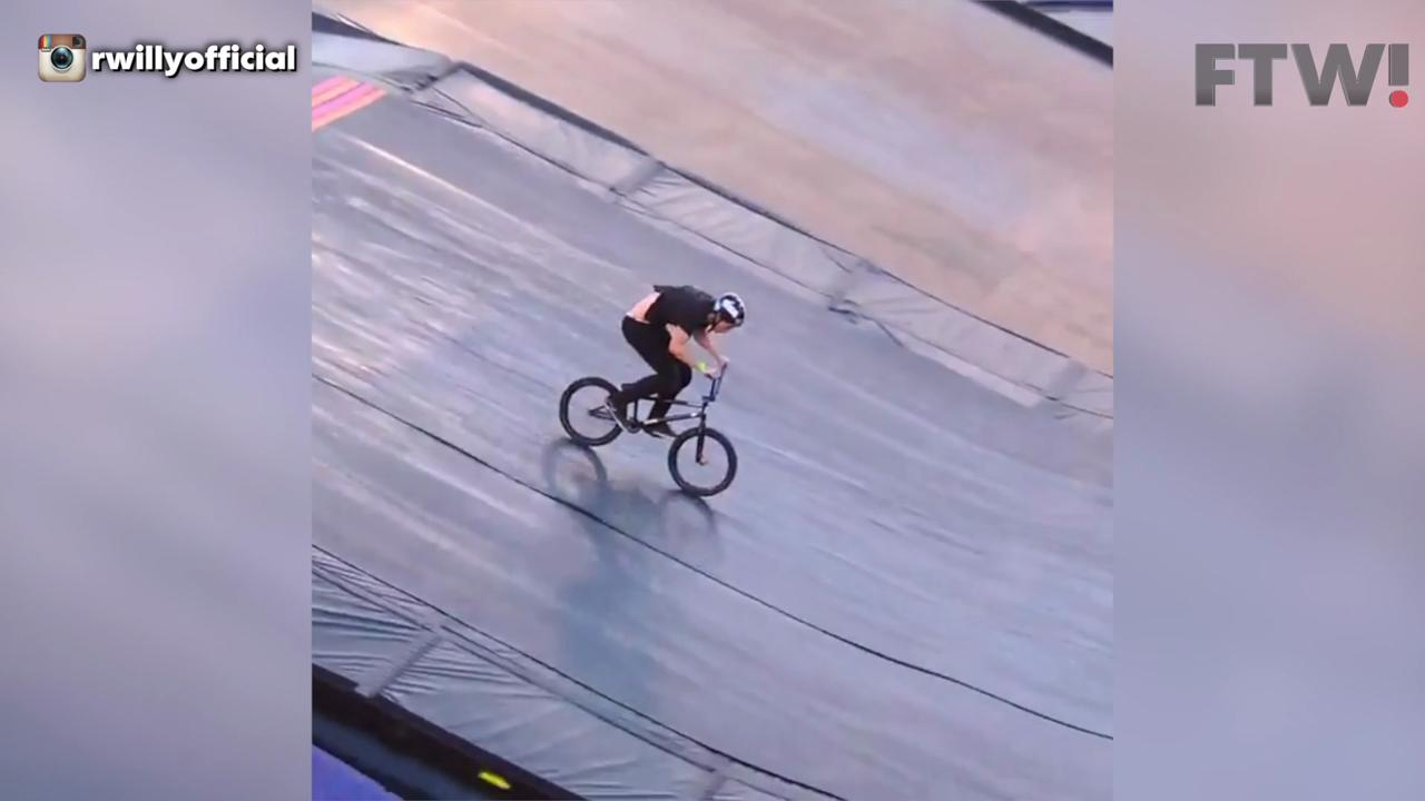 The first ever BMX 1080 front flip