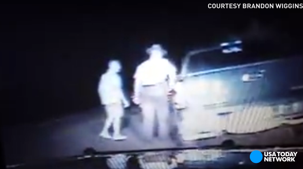 A Georgia Sheriff's Deputy pulled over a truck but when a second car showed up and the driver stepped out, he didn't know what to expect. It ended up being an encounter the deputy won't soon forget.