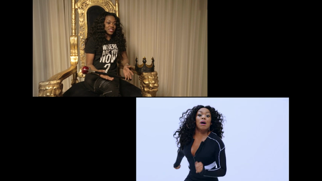 For Lady Leshurr, 'the belly is always out'