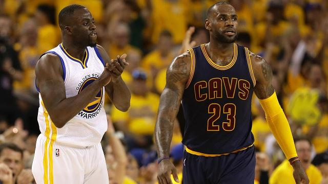 Golden State Warriors forward Draymond Green opened up about his supposed beef with Cavaliers star LeBron James in a video for DraftKings, saying that the two are friendly once they step off the court.
