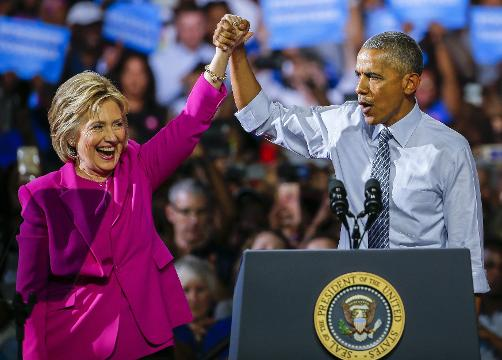 Is Obama an asset or a problem for Democratic candidate Hillary Clinton? Susan Page weighs in from the Democratic National Convention.
