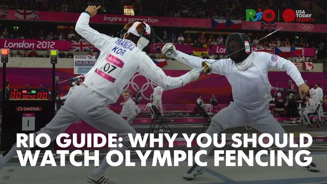There's more to fencing than just hitting swords. Learn more from members of Team USA.