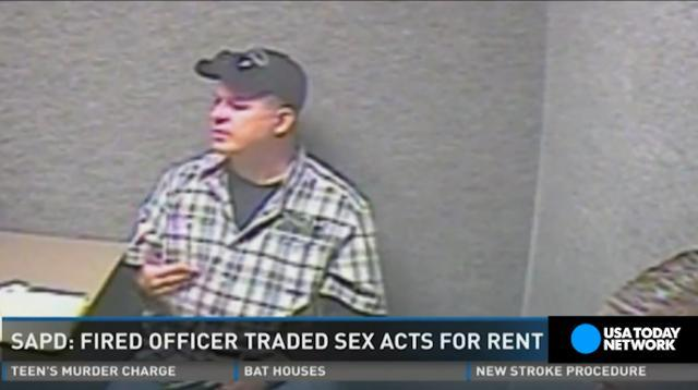 Police officer fired after demanding sex acts for rent