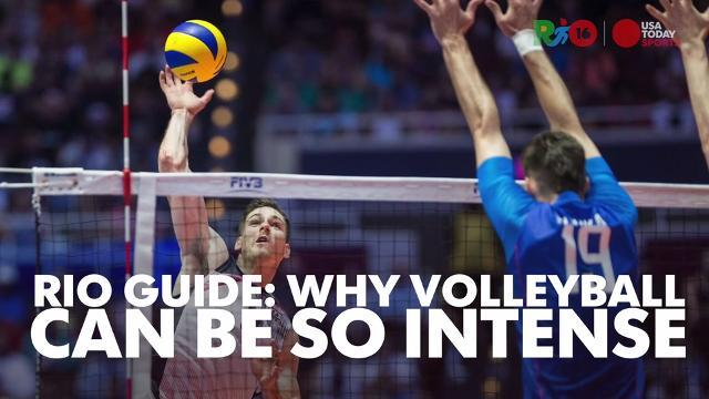 Rio Guide: Why indoor volleyball gets so intense