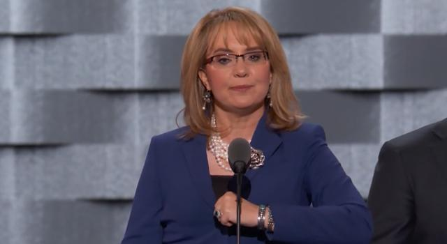 Gabby Giffords: I want to say Madame President