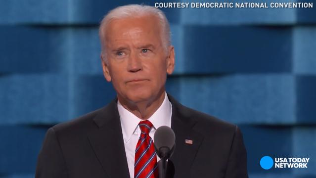 Vice President Joe Biden called the night a bittersweet moment for him and his family after the death of their son Beau during his speech at the Democratic National Convention in Philadelphia.