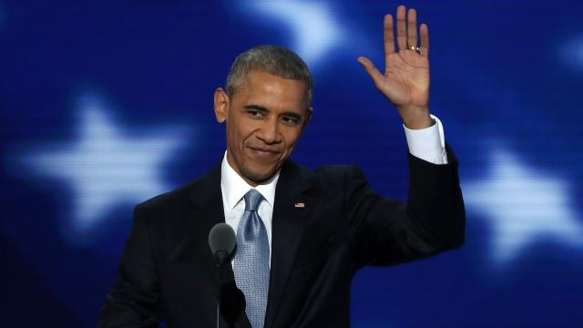 President Obama's speech was both a spirited endorsement of Hillary Clinton and an optimistic farewell. Video provided by Newsy