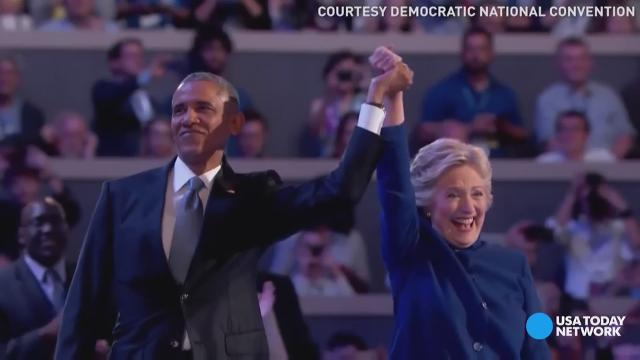 Obama backs Clinton: Dem convention day 3 highlights