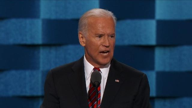 Political heavyweights Joe Biden, Michael Bloomberg and Leon Panetta criticise Republican nominee Donald Trump at the Democratic National Convention. Video provided by AFP