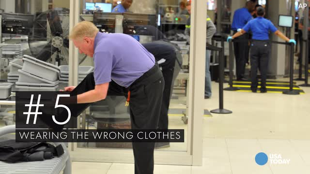 Having a hard time at the airport? Here are 10 common mistakes you may be making.