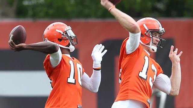 The MMQB's Andy Benoit spotlights Cleveland Browns quarterbacks Robert Griffin III and Josh McCown.