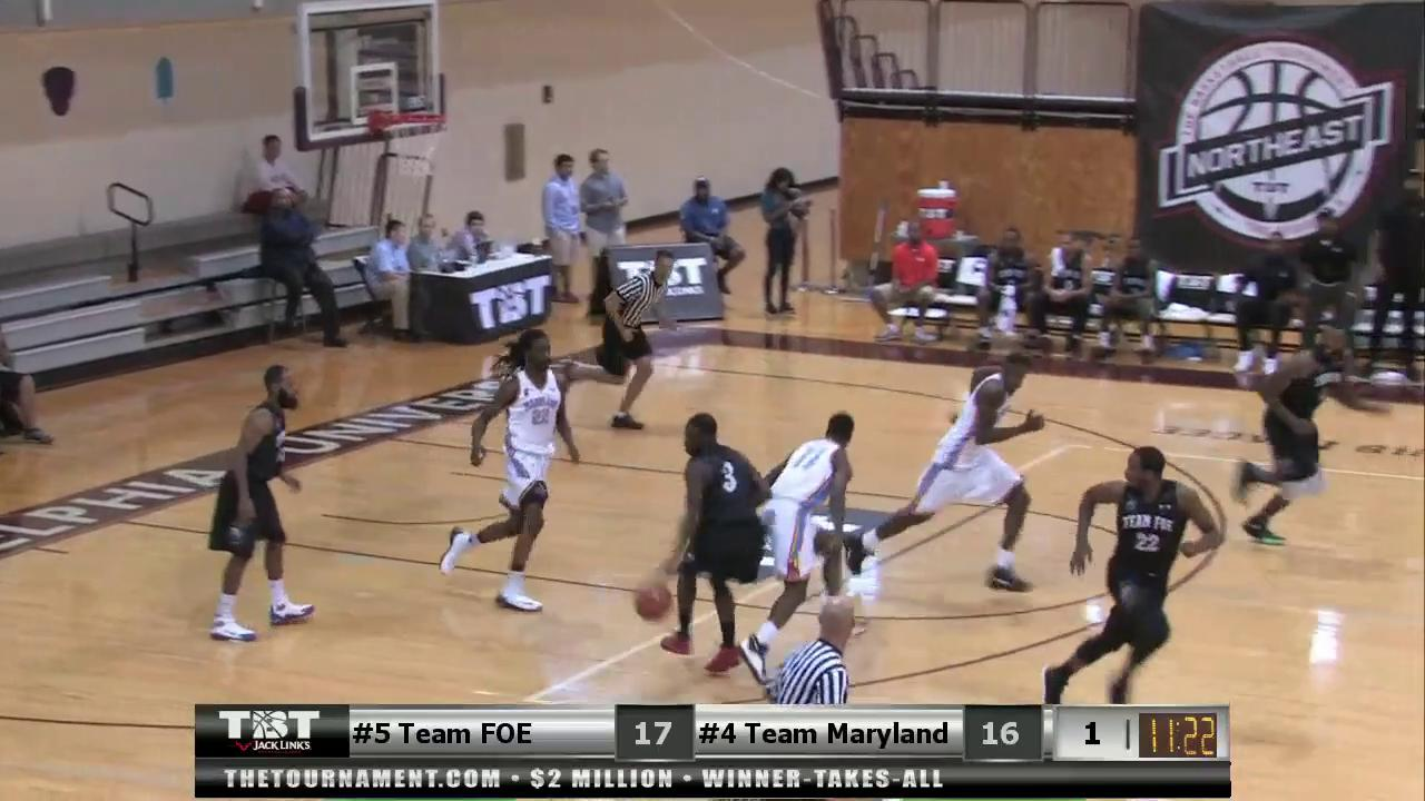 The Basketball Tournament consists of 64 teams vying for a $2 million grand prize and the highlights are jaw-dropping.