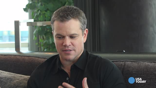 Jason Bourne and his creator are the link between Bergen Mall and Matt Damon