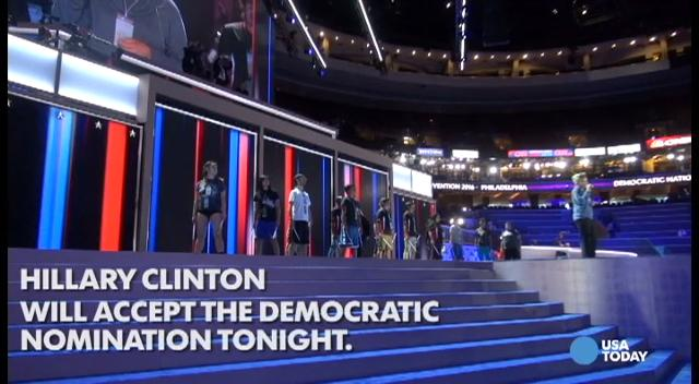 The four-day Democratic National Convention will culminate as Hillary Clinton speaks at the Wells Fargo Center tonight. Watch this video to see what the delegates on both the Clinton and Bernie supporters sides expect.
