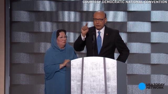 Khizr Khan warned against Donald Trump's anti-Muslim rhetoric at the Democratic National Convention, questioning if the Republican presidential nominee has ever even read the Constitution of the United States.