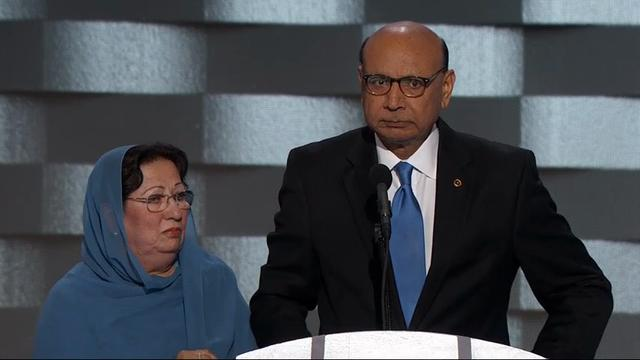 Father of Fallen Muslim Soldier Questions Trump