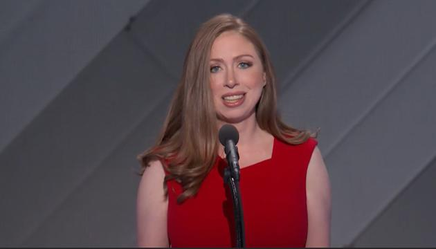 Despite being busy with work, Hillary Clinton's daughter says her mother was always there for her, making her a very proud daughter.
