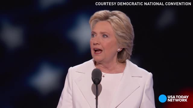 Hillary Clinton accepting her presidential nomination and her daughter Chelsea introducing her mom with loving memories are just a few of the memorable moments from the final night of the Democratic National Convention.