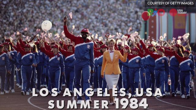 USA Olympic uniforms over the years