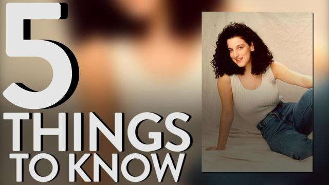 Here are five things to know about Chandra Levy.
