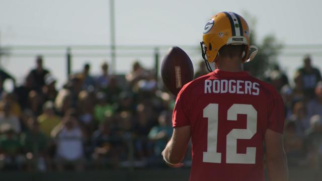 The MMQB's Peter King reports from Green Bay on the pressures facing the Packers and QB Aaron Rodgers.