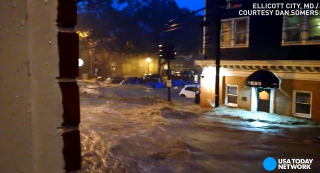 Two dead after floodwaters devastate historic Md. city