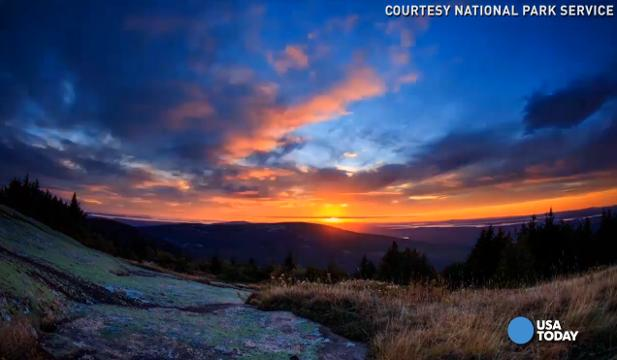 Cadillac Mountain sees the first sunrise in the U.S. in the fall and winter, but there's much more beauty to behold all year round at Acadia National Park.