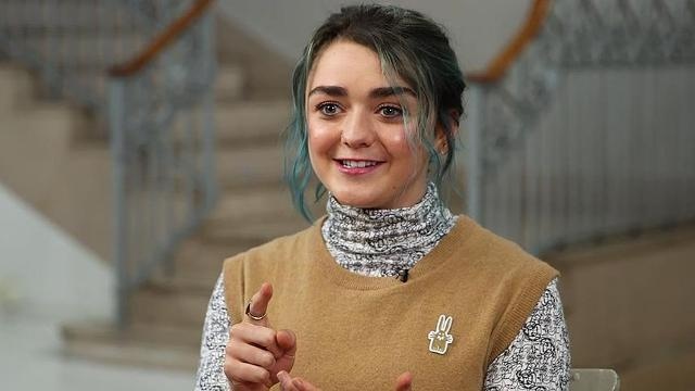 """""""Game of Thrones"""" actress Maisie Williams shares Emmy nod with mom"""