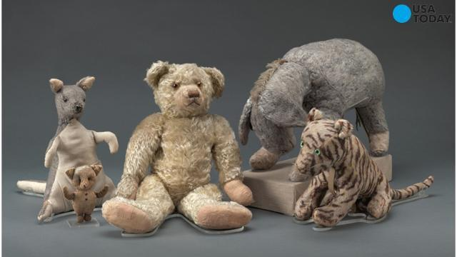 Restored Winnie-the-Pooh returns to NYC library