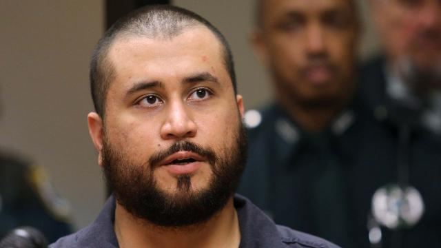 George Zimmerman says talking about Trayvon Martin got him punched