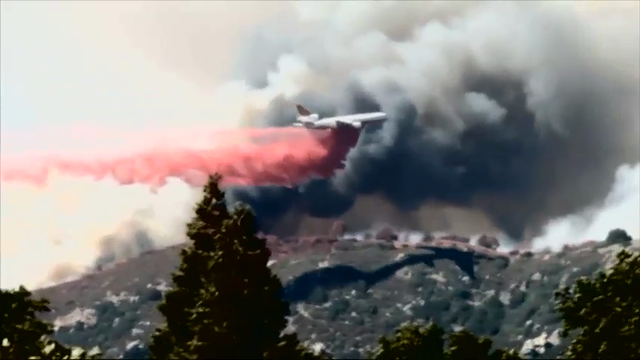 Pilot Fire near Silverwood Lake now 6298 acres; 6 percent contained
