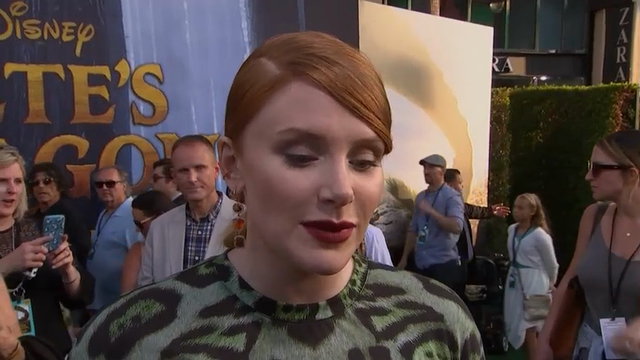 Bryce Dallas Howard's family affair