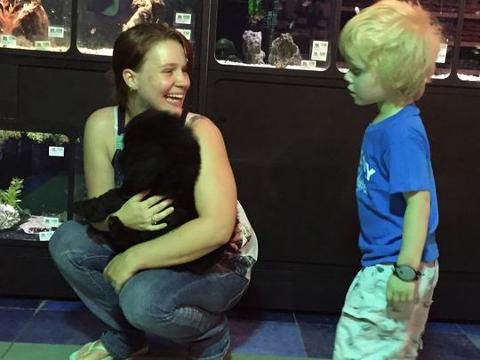 Three-year-old with Autism gets service pup
