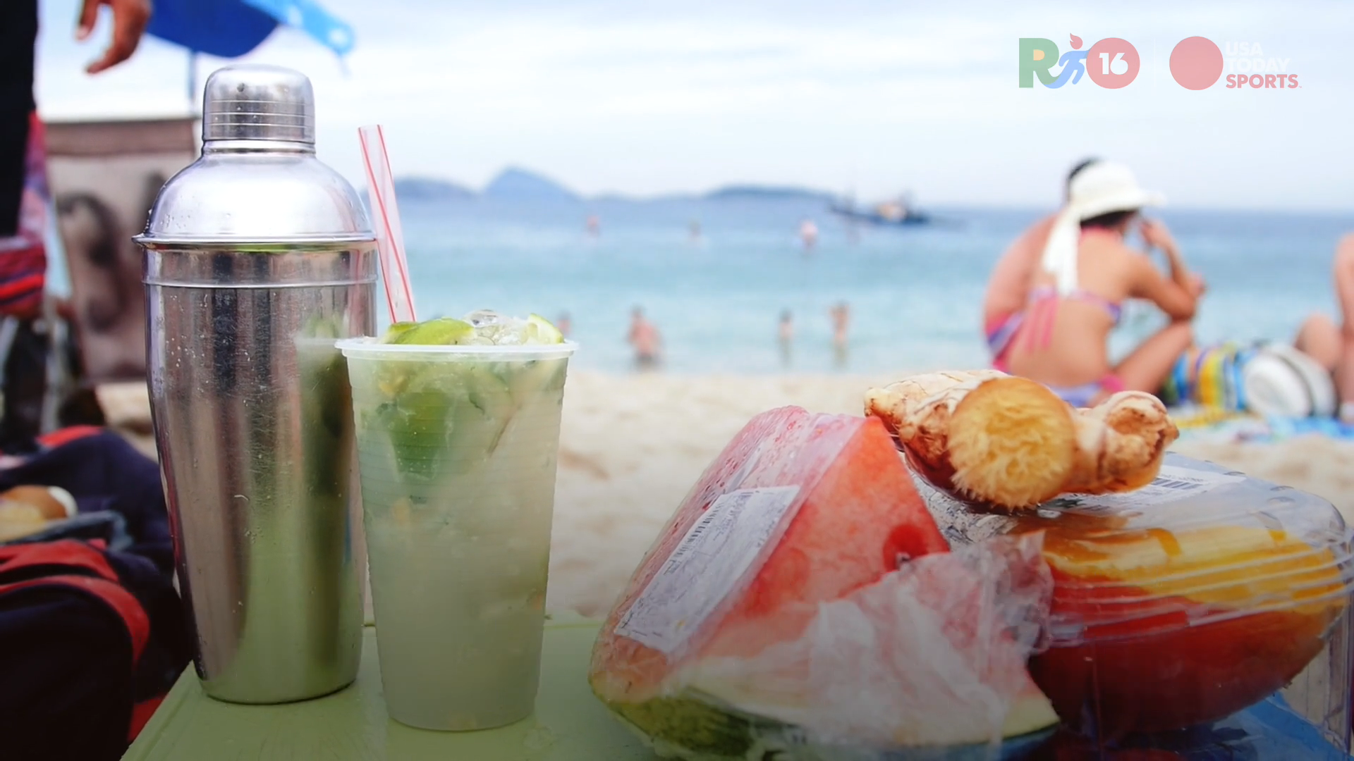 Rio Daily: Beach food